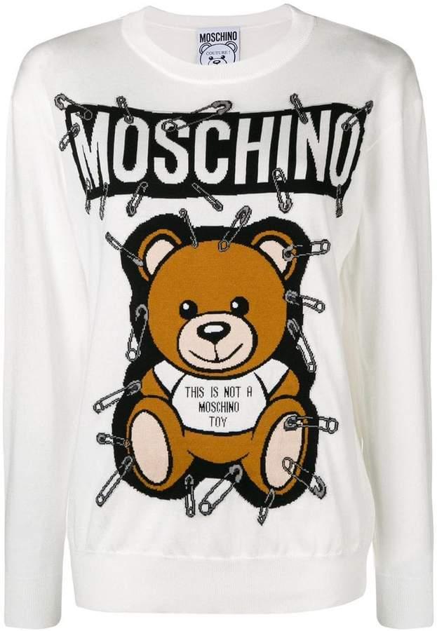 Moschino Toy Bear jumper