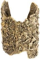 Alexander McQueen molten brass cuff