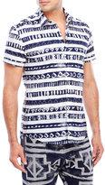 Antony Morato Stripe Geometric Slim Fit Shirt