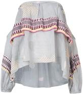 Lemlem Wefi off shoulder blouse