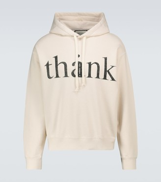 Gucci Think/Thank hooded sweatshirt
