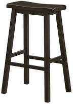 Monarch 29 Inch Saddle Seat Barstools Set of Two