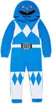 Power Rangers Boys Sleepwear Long Sleeve Footed Pajamas- Big Kid Boys