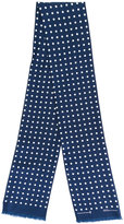 MACKINTOSH polka dot scarf - women - Silk - One Size