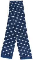 MACKINTOSH polka dot scarf - women - Silk - One Size