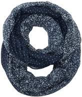Tom Tailor Women's print mix loop Full Slip, Blue (real navy blue)