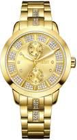 JBW Women's Lumen Diamond 18k gold-plated stainless-steel Watch