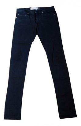 April 77 Black Cotton Jeans for Women Vintage
