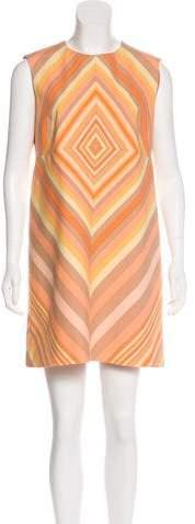 Valentino Virgin Wool & Silk Shift Dress