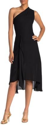Reiss Ada One Shoulder High/Low Dress