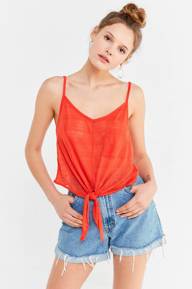 Urban Outfitters Quinn Tie-Front Cami