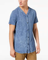 American Rag Men's Indigo Baseball Shirt, Created for Macy's