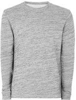 Selected Gray High Neck Sweatshirt