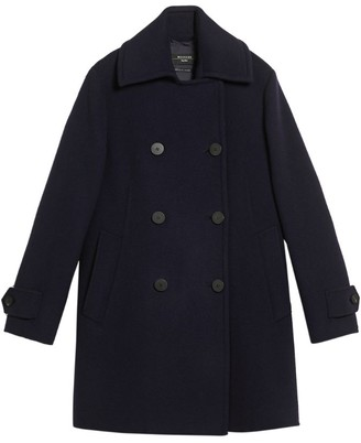 Max Mara Virgin Wool Ugolina Pea Coat