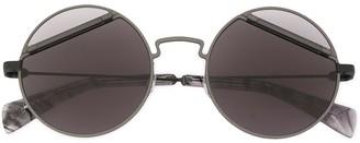 Yohji Yamamoto Panelled Lens Sunglasses