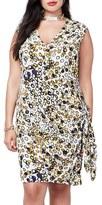 Rachel Roy Plus Size Women's Side Tie Dress