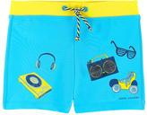 Little Marc Jacobs Graphic swim shorts