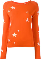 Chinti and Parker cashmere star jumper