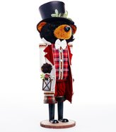 Southern Living Nostalgic Noel Collection Bear Nutcracker Figurine