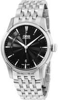 Oris Men's Artelier 40mm Steel Bracelet Automatic Watch 01 733 7670 4054-MB