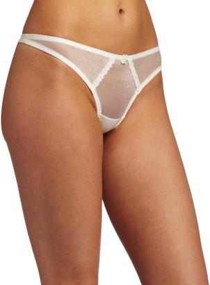 Carnival Womens Satin Thong Panty