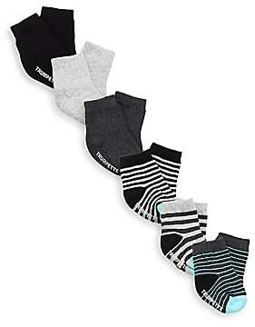 Trumpette Baby's Finn Striped Six-Pair Sock Set