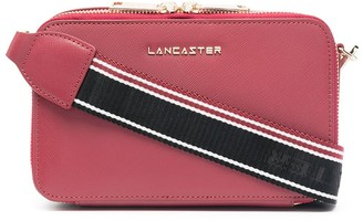 Lancaster Zip-Around Logo Crossbody Bag