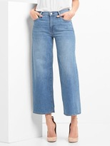 Gap High rise wide leg crop jeans