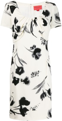 Emanuel Ungaro Pre Owned 1990's Floral Dress