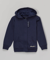 Eddie Bauer Navy Hoodie - Toddler & Girls