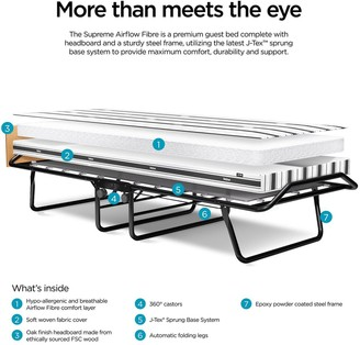 Jay-Be Supreme Automatic Folding Bed with Airflow Mattress