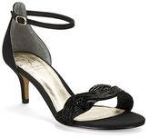 Adrianna Papell Aerin Metallic Open-Toe Sandals