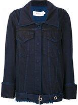 Marques Almeida Marques'almeida - cuff detail jacket - women - Cotton - S