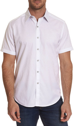 Robert Graham Men's Andretti Paisley Short-Sleeve Sport Shirt
