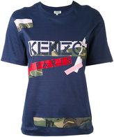 Kenzo Broken Camo T-shirt - women - Cotton - M