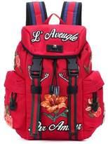 Gucci Appliquéd backpack