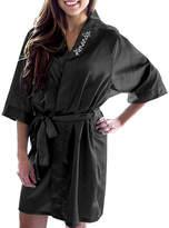 Cathy's Concepts CATHYS CONCEPTS Personalized Satin Satin Kimono Robes
