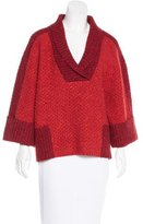Carolina Herrera Wool Oversize Sweater