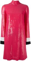 Emilio Pucci sequined longsleeved dress