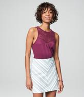 Mitered Stripe Skirt