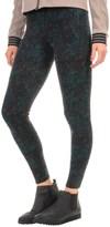 Threads 4 Thought Printed Fleece Leggings (For Women)