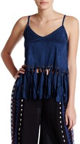 Raga Little Rock Faux Suede Tank