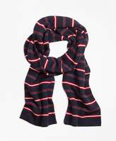 Brooks Brothers Merino Wool Stripe Scarf