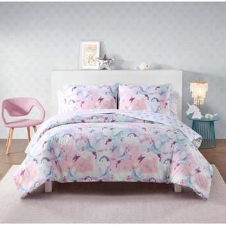Heritage Club Glitz and Glitter Unicorn Bed in a Bag Set, Twin