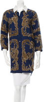 Carven Printed Long Sleeve Tunic