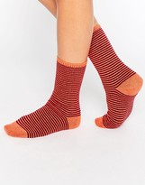 Johnstons Striped Socks