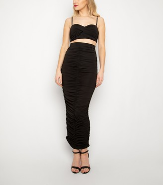 New Look New Age Rebel Ribbed Crop Top