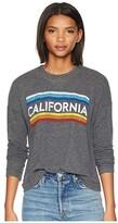Original Retro Brand The California Super Soft Haaci Pullover (Black Haaci) Women's Clothing
