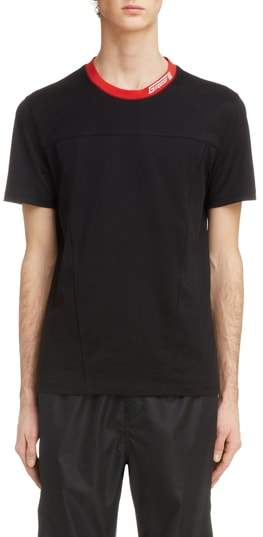Givenchy Red Collar T-Shirt