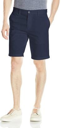 Nautica Men's Slim Fit Cotton Twill Flat Front Chino Short
